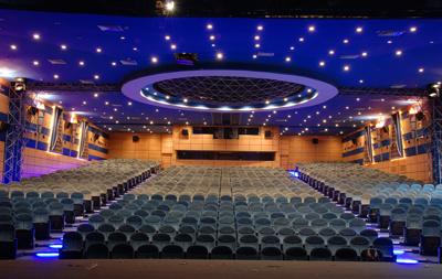 Image result for نمایشگاه سالن های سینما، تئاتر، کنسر