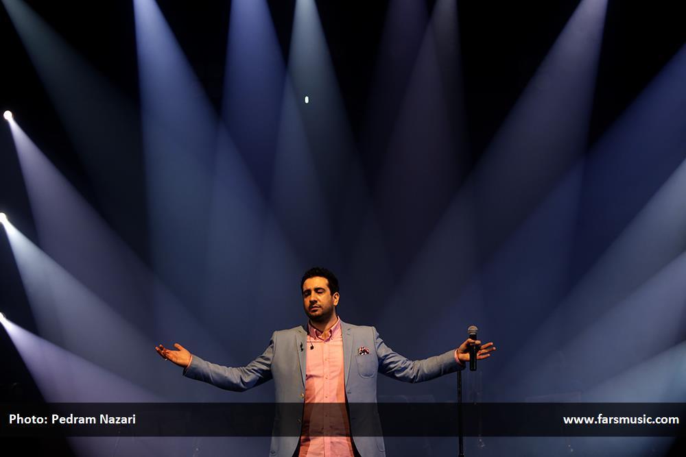 کنسرت یانی تهران تاریخ در