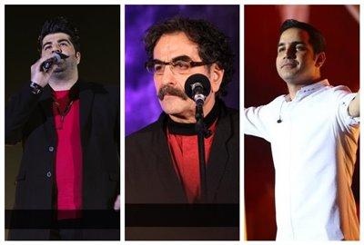 کنسرت خوانندههای مطرح کشور در آنسوی آبها