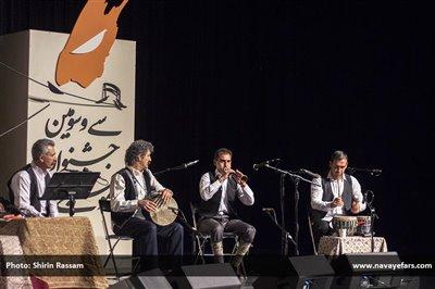 طنین آواز کتولی در جشنواره موسیقی فجر