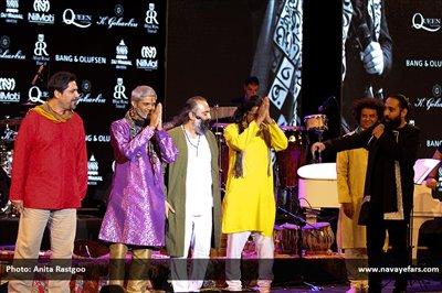 کنسرت روزبه نعمتاللهی در تهران برگزار شد