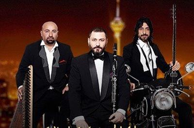 کنسرت یک گروه ترکیهای در تهران