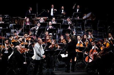 ارکستر سمفونیک تهران به تیم ملی هدیه داد