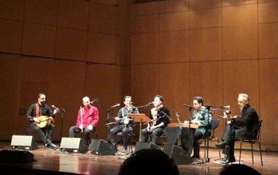 استقبال یونانیها از موسیقی ایرانی/ وحید تاج در قصر مجلل آتن خواند