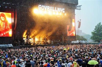 طوفان احتمالی جشنواره موسیقی را لغو کرد