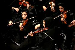 ارکستر ملی به خوانندگی وحید تاج روی صحنه رفت