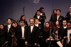 ارکستر سمفونیک تهران روی صحنه رفت